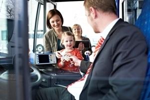 Busfahrer Alpina Kunden
