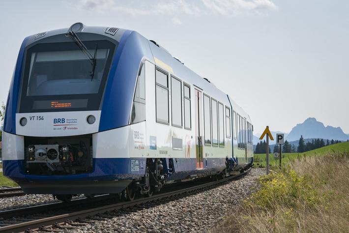 BRB-Züge im Einsatz der DB Regio