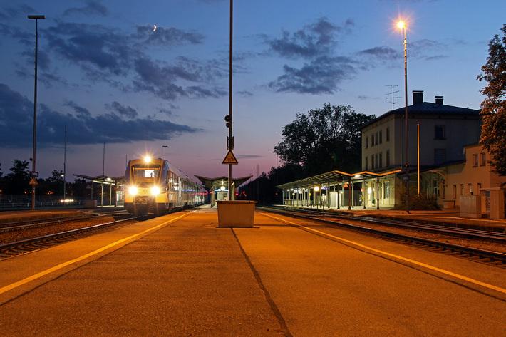 BRB im Bahnhof Kaufering Stefan von Lossow