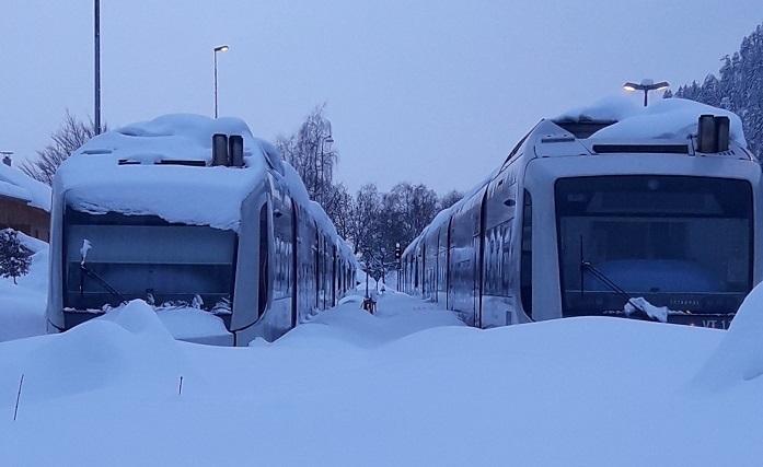 Die BOB-Züge stehen still