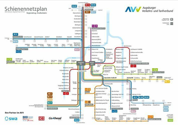 AVV Netzplan Innenraum