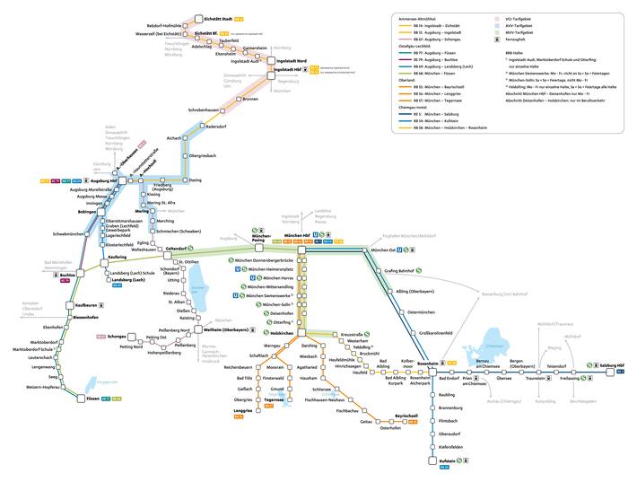 Streckennetzplan BRB