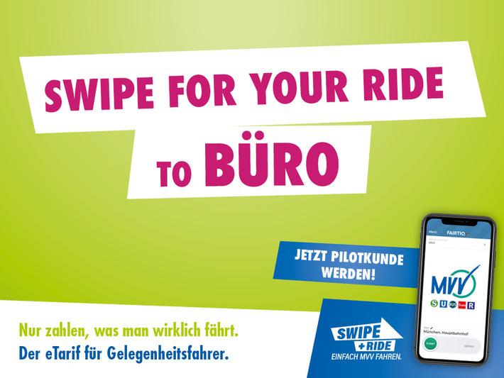 Swipe and ride to Büro