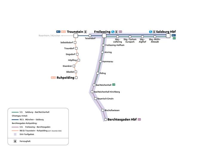 Netz Berchtesgaden - Ruhpolding