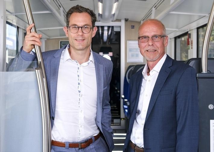 Die Geschäftsführer der Bayerischen Oberlandbahn GmbH