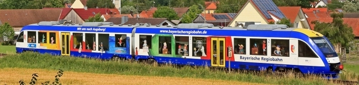 BRB - LINT mit Beklebung der Augsburger Puppenkiste