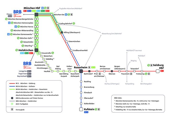 Linien Und Fahrpläne Des Meridian Meridian Bob Brb