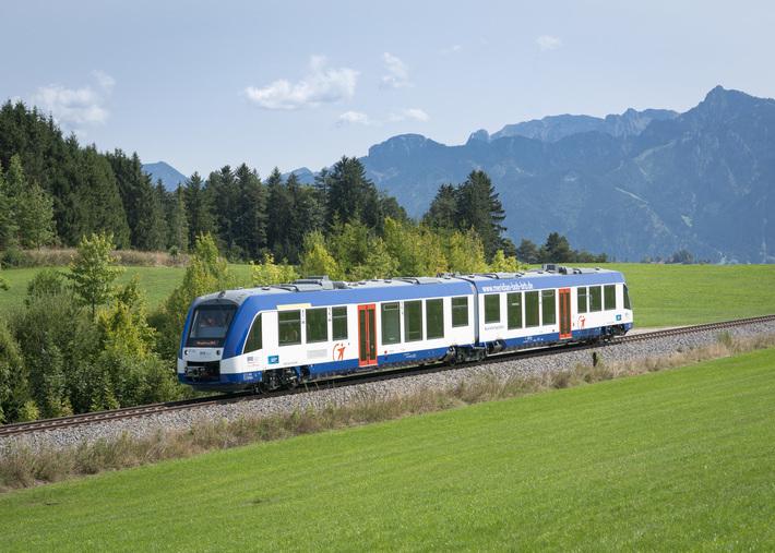 Alstom LINT für die BRB-Strecken München/Augsburg – Füssen/Landsberg