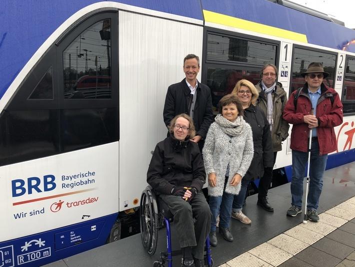 BRB präsentiert neue Fahrzeuge vor Verbandsvertretern