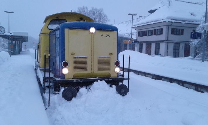 Schneeräumfahrzeugen