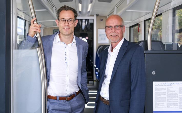 Unsere beiden Geschäftsführer Herr Amini (li) und Herr Schuchmann (re) – Foto BRB/Andi Leder