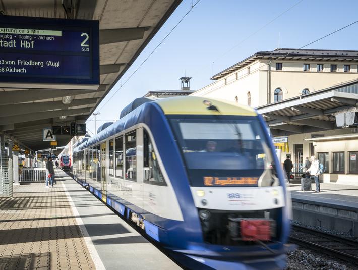 Augsburg Hauptbahnhof