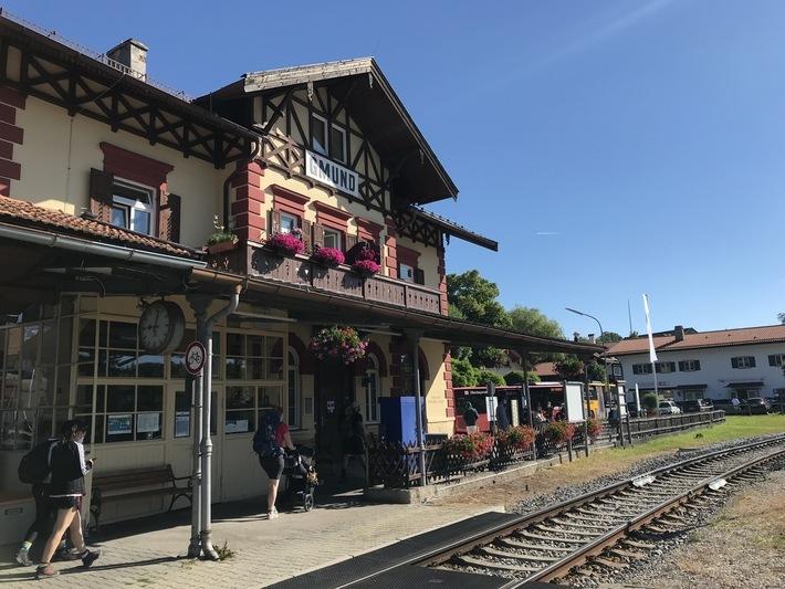 Gmunder Bahnhof