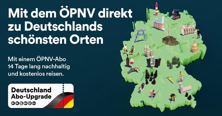 Karte Deutschlandabo