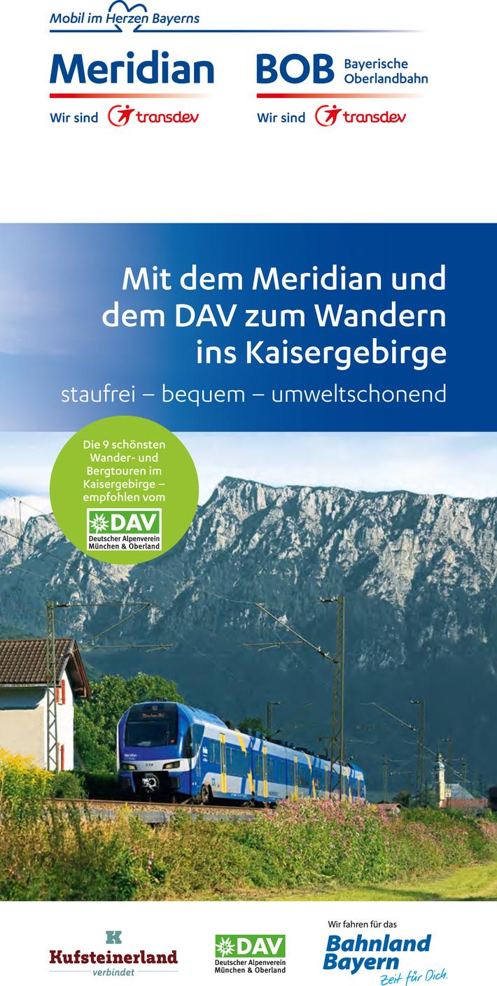 Flyer - Mit Meridian & BOB in die Berge