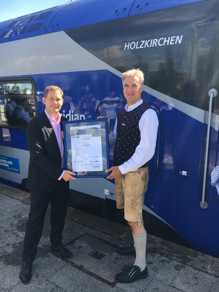 Zugsegnung Holzkirchen