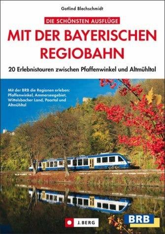 Buch Cover Mit der Bayerischen Regiobahn