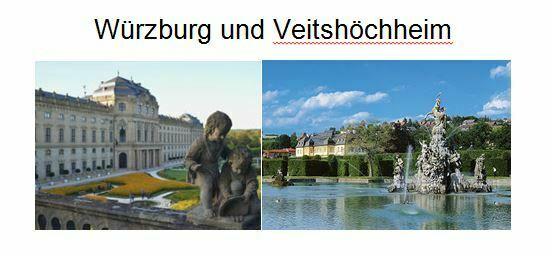 Würzburg und Veitshöchheim