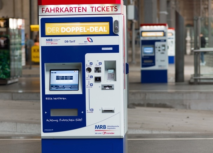 MRB-Fahrkartenautomat