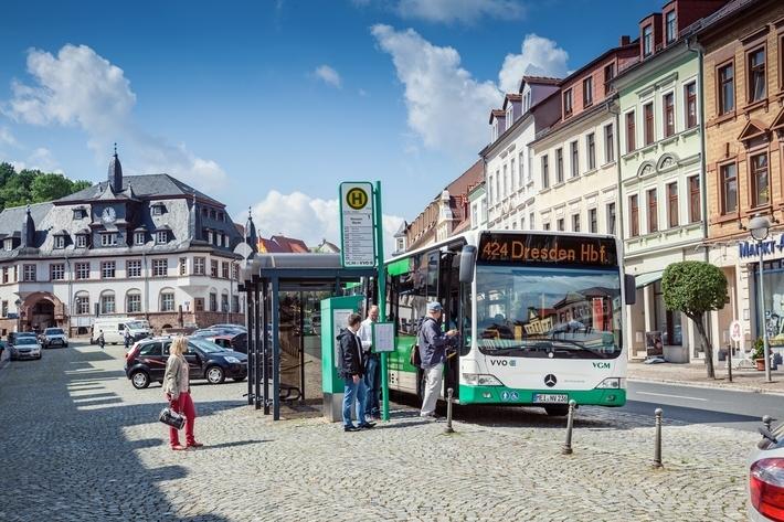 Bus in Nossen