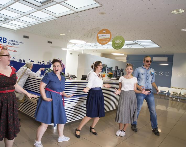 Elvis im MRB-Kundencenter Zwickau
