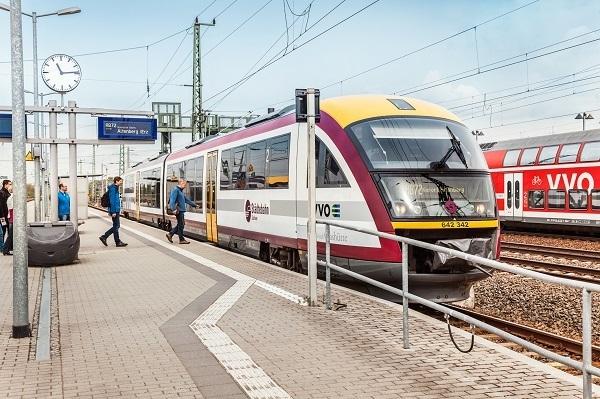 Zug der ehemaligen Städtebahn