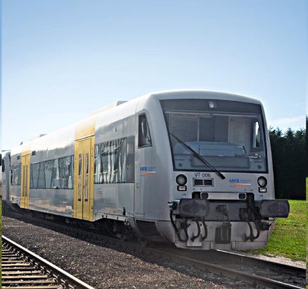 Regio-Shuttle  von Vorne und Seite