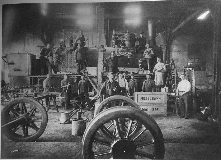 Die Werkstatt in Andel (1908)