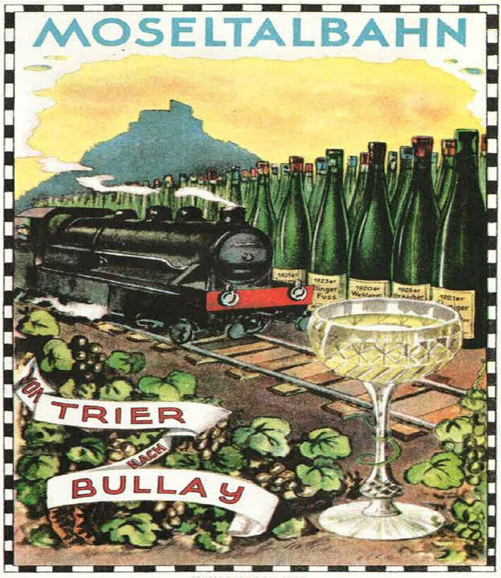 Moseltalbahn 1927