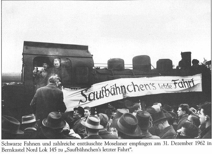 Saufbähnchens letzte Fahrt am 31.12.1962