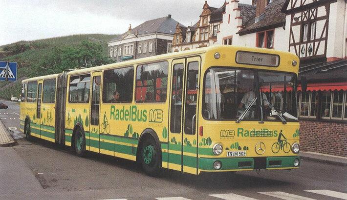 Ein Radelbus der Firma Vetter (1991)