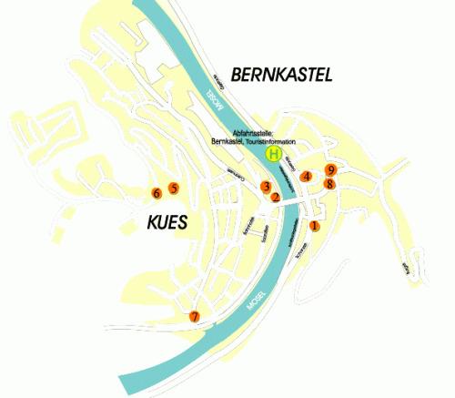 Karte der Stationen der Panoramabahn