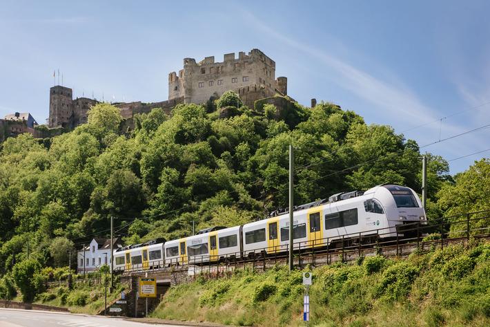Strecke Mittelrheinbahn Burg