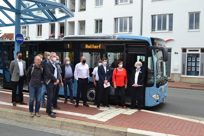 Gruppe Stadtbus