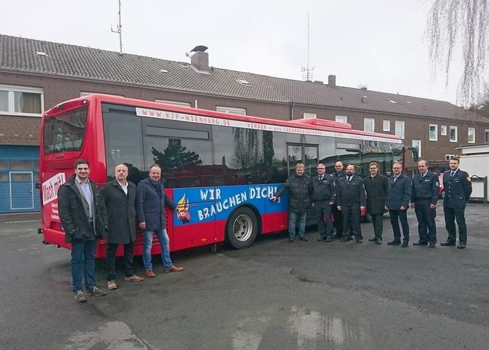 Feuerwehrbus / MittelWeserBus