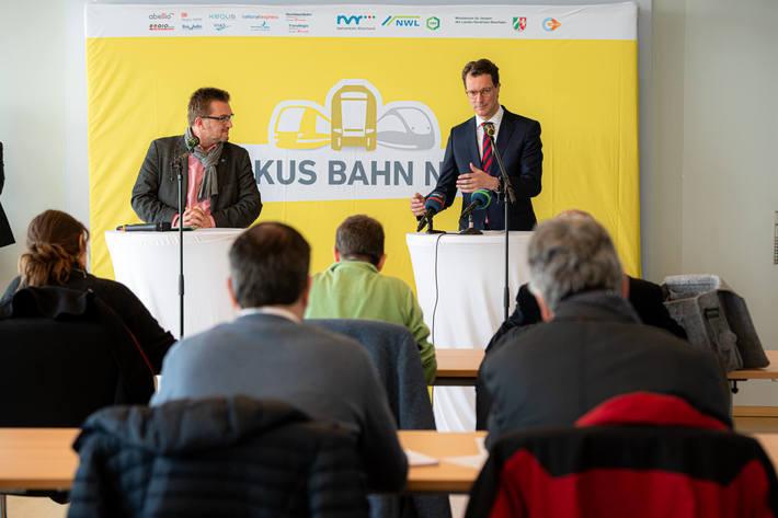 Fokus Bahn NRW: Gemeinsam für einen starken Nahverkehr.