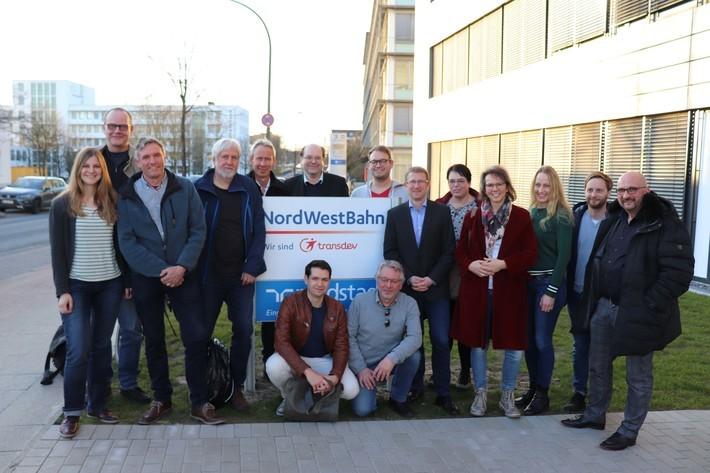 Bündnis90/Die Grünen bei der NordWestBahn