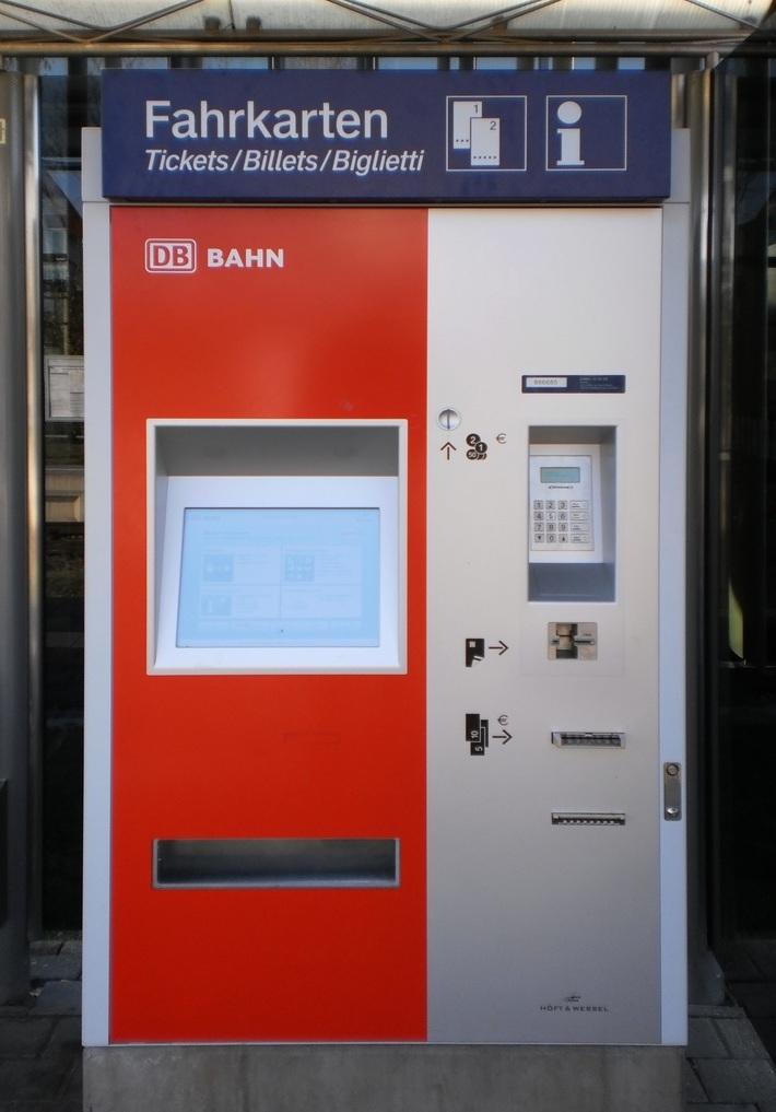 DB-Fahrkartenautomat