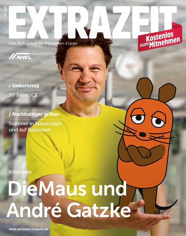 Extrazeit - das Magazin für Fahrgäste in Westfalen-Lippe vom NWL