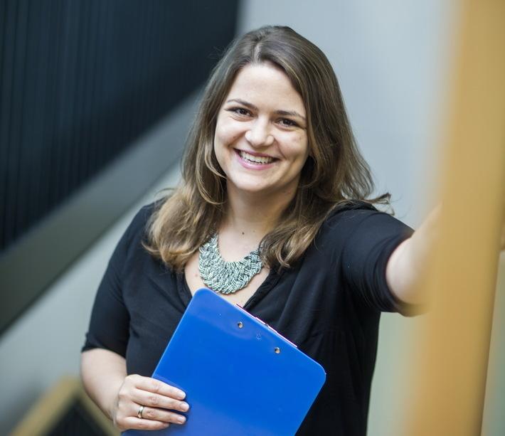 Tanja Seifert leitet die Personalabteilung der NordWestBahn