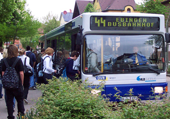 ovr bus in albstadt