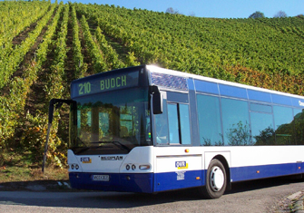 OVR Bus in Waiblingen