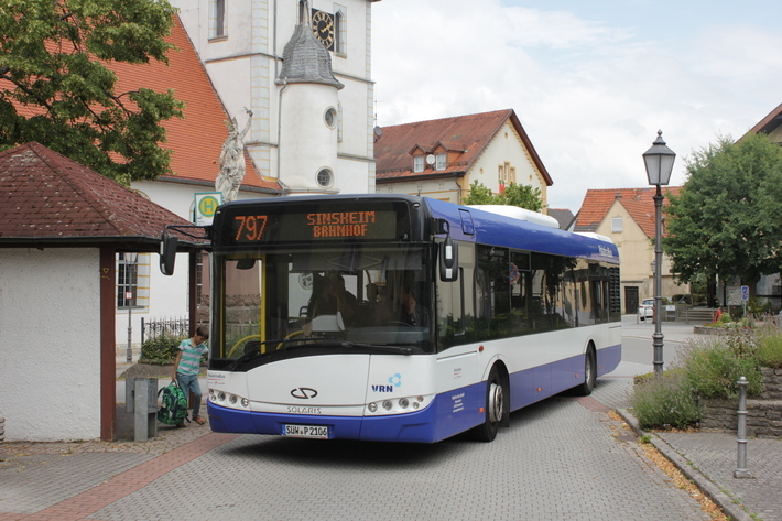 Bus in Waibstadt