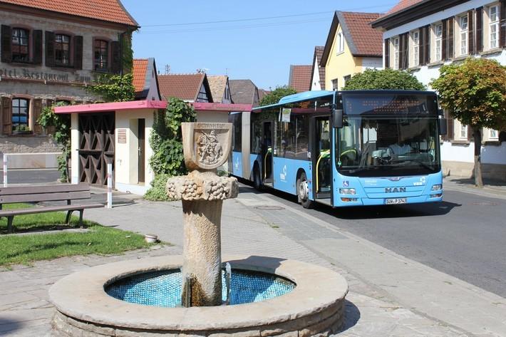 Gemeindebus Wachenheim
