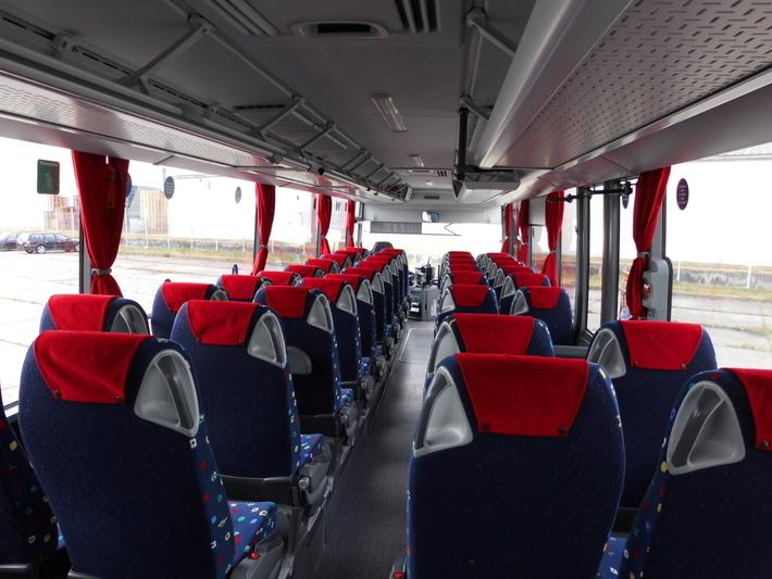 Innenansicht Reiseverkehrsbus