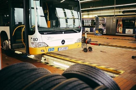 Stadtbus Bad Kreuznach Werkstatt