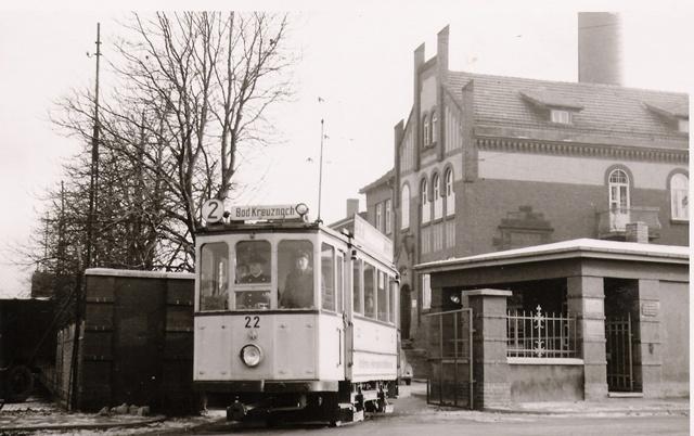 Straßenbahndepot am E-Werk