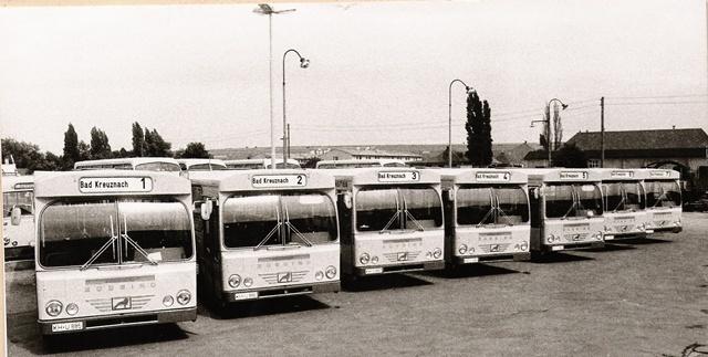 Buessing Standard-Linienbusse 1968