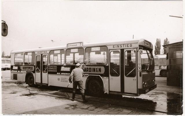 Busreinigung um 1970