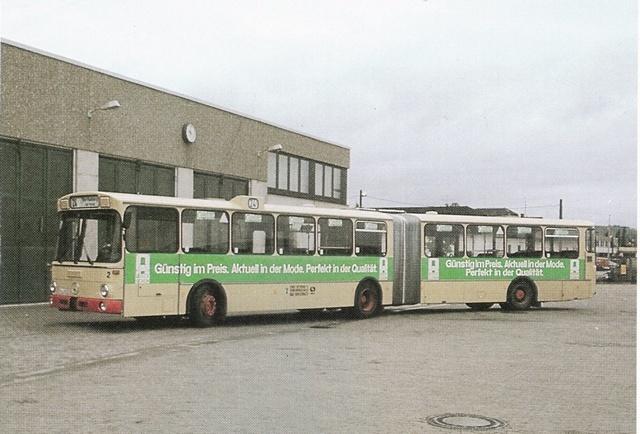 Erster Gelenkzug 1981